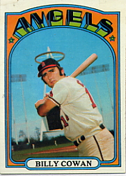 1972 Topps Baseball Cards      019      Billy Cowan